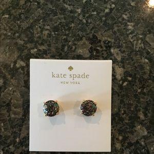 Kate Spade Drusy Stud Earrings